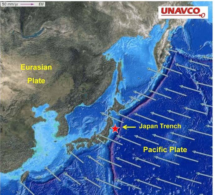Tohoku earthquake and tsunami figure 3 subduction of the pacific plate beneath the eurasian plate source virtualuppermantlefo2011 sendai japanm gumiabroncs Images